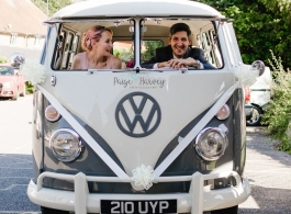 VW Campervan wedding hire in Brighton